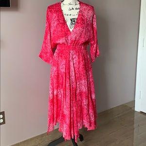 NWT, 100% silk Maje dress